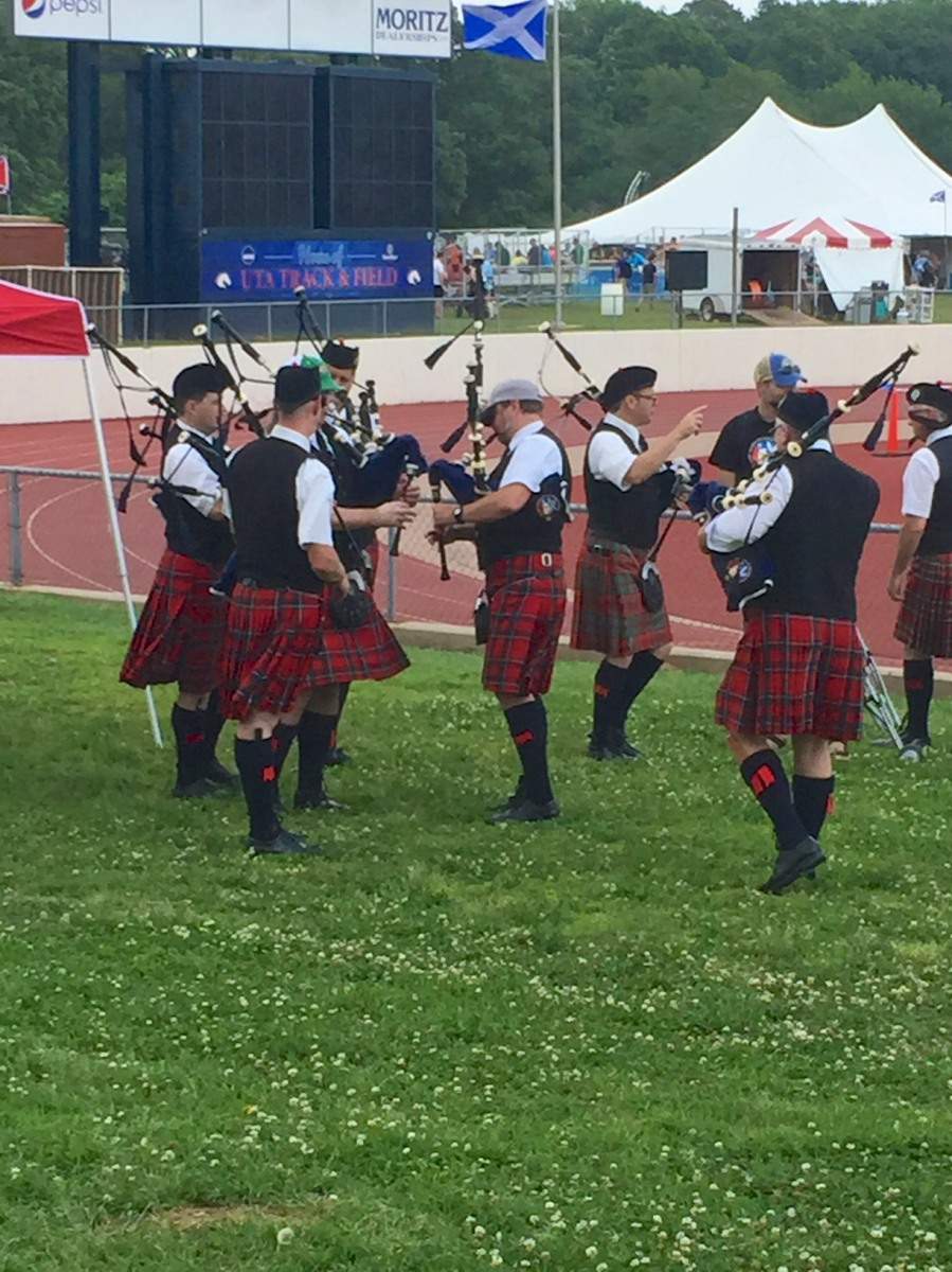 Day 129 - The Texas Scottish Festival